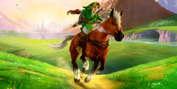 """Zelda Ocarina of Time 3D"": Goldene Boni für Vorbesteller. The Legend of Zelda: Ocarina of Time 3D (Quelle: Nintendo)"