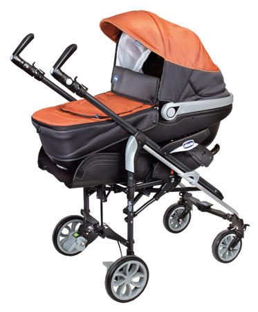 kinderwagen im test chicco trio living completo in luxor orange foto ko test 2. Black Bedroom Furniture Sets. Home Design Ideas