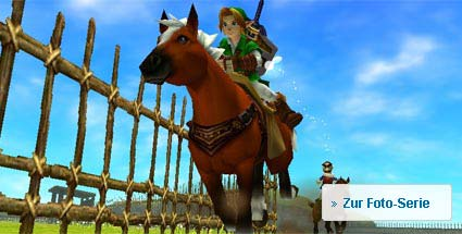 "Spieletest ""The Legend of Zelda: Ocarina of Time"": 3D für Nintendo 3DS. The Legend of Zelda: Ocarina of Time 3D (Quelle: Nintendo)"