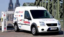 Elektroauto: Ford Transit Connect Electric ab sofort bestellbar. Ford Transit Connect Electric (Foto: Ford)  (Quelle: Hersteller)