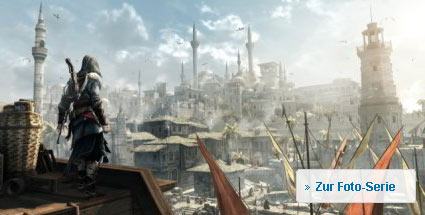 "First Look auf ""Assassin's Creed Revelations"": Action-Adventure für PC, PS3 und Xbox 360. Assassin's Creed Revelations (Bild: Ubisoft)  (Quelle: Ubisoft)"