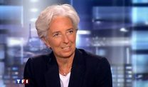 Lagarde leitet IWF (Screenshot: Reuters)