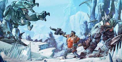 Actionspiel Borderlands 2: DLC Sir Hammerlock's Big Game Hunt angekündigt. Ego-Shooter Borderlands 2 (Quelle: Gearbox)