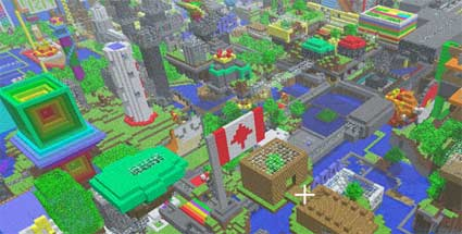 Minecraft: Minecon-Event in Europa und Update für Xbox 360-Version. Minecraft (Quelle: Mojang)