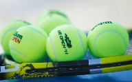 New balls, please: Die Filzkugeln der US Open. (Quelle: AP/dpa)