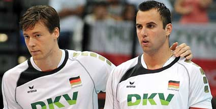 Deutschland Slowakei Volleyball