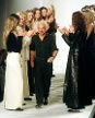 Lauren auf der New York Fashion Week 1998 (Quelle: Reuters)