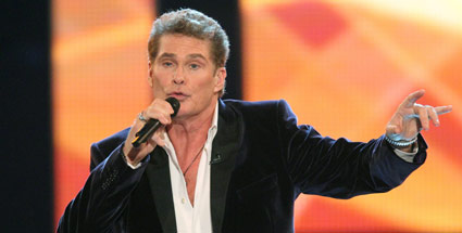 David Hasselhoff will Videospiel-Star werden. David Hasselhoff (Quelle: dpa)