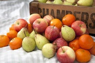 Fruchtige Freude: Obstkorb (Quelle: Thinkstock by Getty-Images)