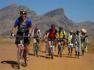 Bike adventure Afrika (Quelle: srt)