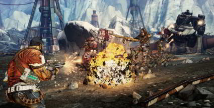 Borderlands 2 für PC, PS3 & Xbox 360: Gearbox Ego-Shooter in der Vorschau. Borderlands 2 (Quelle: 2K Games)