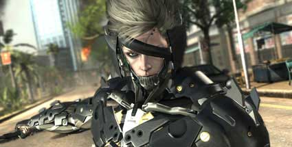 "First Look auf ""Metal Gear Rising: Revengeance"": Schleichen war einmal. Metal Gear Rising: Revengeance (Quelle: Konami)"