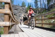 Radtour durch die Rocky Mountains. (Quelle: http://www.kanada-bike.com)