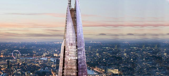 the shard in london neue sehensw rdigkeit in london. Black Bedroom Furniture Sets. Home Design Ideas