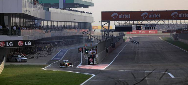 Der Buddh International Circuit (Quelle: imago)