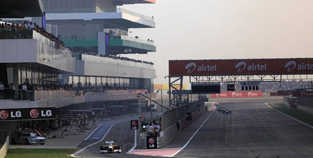 . Der Buddh International Circuit (Quelle: imago)