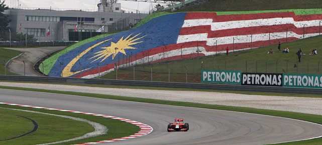 Der Sepang International Circuit in Malaysia. (Quelle: xpb)