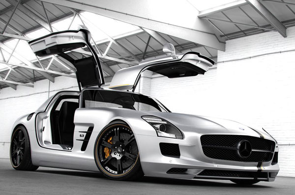 Wheelsandmore Mercedes SLS AMG (Quelle: Wheelsandmore)