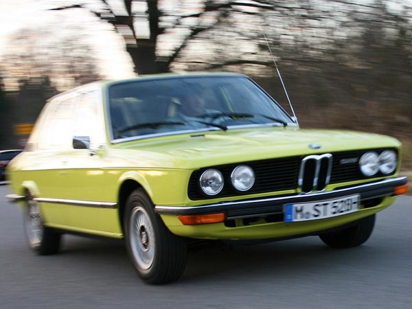 BMW 528 (Quelle: Press-Inform)
