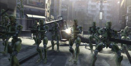 Test zu Binary Domain: Rebellion der Roboter. Binary Domain (Quelle: Sega)