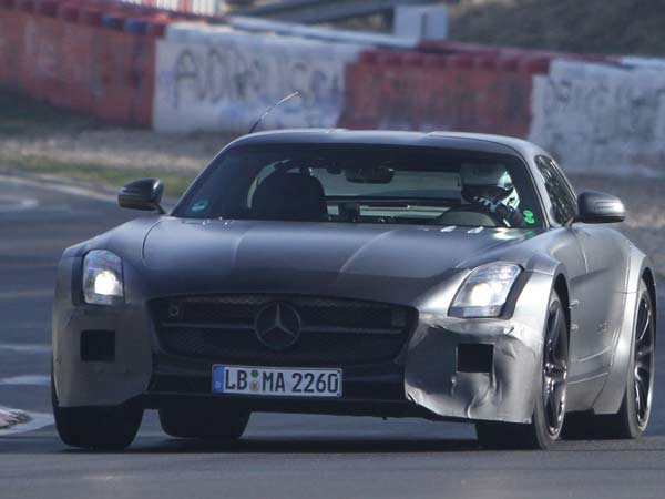"Mercedes SLS ""Black Series"" (Quelle: SB-Medien)"