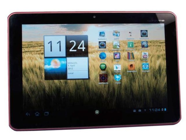 Acer Iconia A200: 10,1 Zoll Tablet-PC im Test. Acer Iconia Tab A200 im Test  (Quelle: Hersteller)