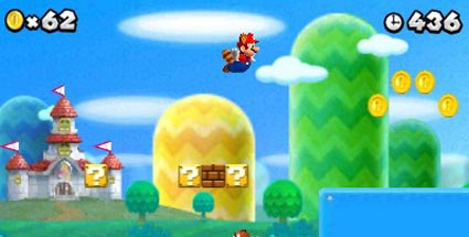 New Super Mario Bros. 2: Nintendo kündigt neues Jump'n'Run-Spiel für 3DS an. New Super Mario Bros. 2 (Quelle: Nintendo)