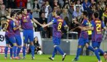 Messi setzt Torjagd fort - Real gewinnt 2:1. Barcelonas Superstar Lionel Messi (2.