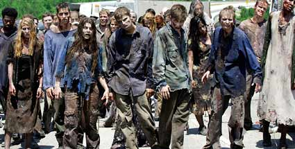 "RTL2 zeigt Zombie-Serie ""The Walking Dead"". Zombie-Serie ""The Walking Dead"" (Quelle: dapd)"