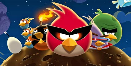 Angry Birds Space für iOS, Android, PC & Mac: der Arcade-Shooter im Test. Angry Birds Space (Quelle: Rovio Entertainment)