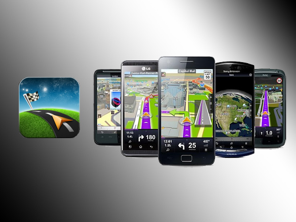 Sygic GPS Navigation Western Europe (Android) (Quelle: Hersteller)