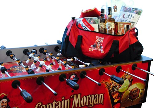 Captain Morgan verlost das ultimative Party-Paket zur Fußball-EM. (Quelle: Hersteller)