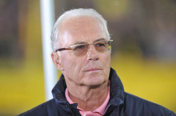 franz beckenbauer wird botschafter f r russlands. Black Bedroom Furniture Sets. Home Design Ideas