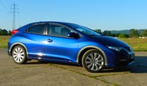 Honda Civic: 150 PS Diesel im Autotest. Honda Civic (Quelle: t-online.de)