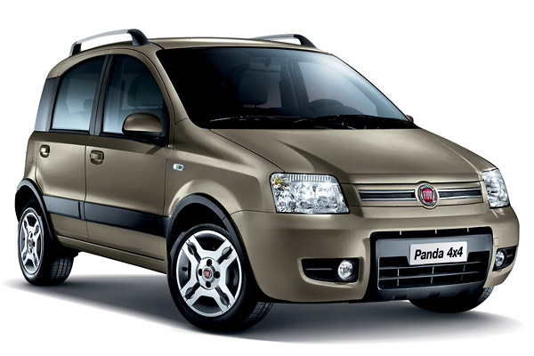 der fiat panda 4x4 belegt mit euro platz 4 der. Black Bedroom Furniture Sets. Home Design Ideas