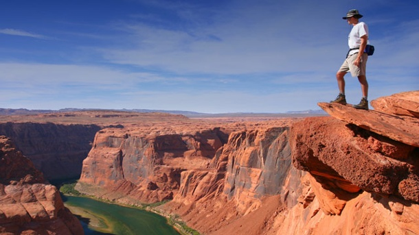 Grand Canyon als Todesfalle. Grand Canyon: Magnet für Outdoor-Liebhaber. (Quelle: Thinkstock by Getty-Images)