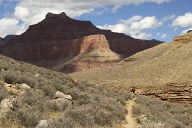 Grand Canyon: Anstrengender Aufstieg. (Quelle: Thinkstock by Getty-Images)