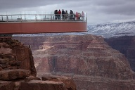 Grand Canyon: Skywalk. (Quelle: Reuters)
