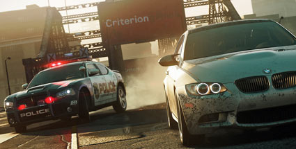 """Need for Speed"" wird bei Criterion und im Kino geparkt. Need for Speed: Most Wanted (Quelle: Electronic Arts)"