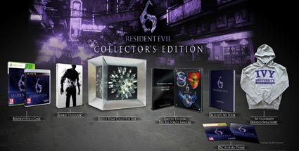 Resident Evil 6 kommt auch als Collector's Edition. Resident Evil 6 Collector's Edition (Quelle: Capcom)