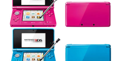 nintendo 3ds neue farben angek ndigt. Black Bedroom Furniture Sets. Home Design Ideas