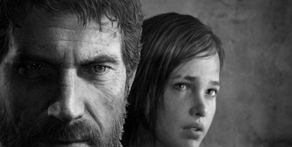 The Last of Us: Mann und Mädchen gehen durch die Endzeit. The Last of Us (Quelle: Naughty Dog / Sony)