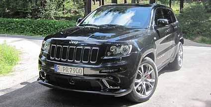 jeep grand cherokee srt das dampfhammer suv. Black Bedroom Furniture Sets. Home Design Ideas