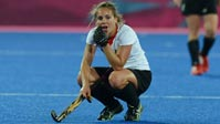 . Hockey-Damen fast k.o. (Quelle: dpa)