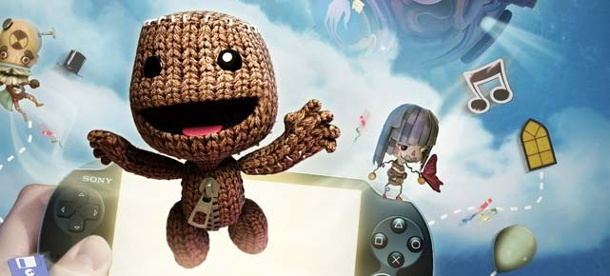 Little Big Planet: Sackboy macht die Vita unsicher. Little Big Planet für Playstation Vita (Quelle: Sony)