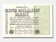 1-Million-Mark-Reichsbanknote von 1923 (Quelle: LW/privat)