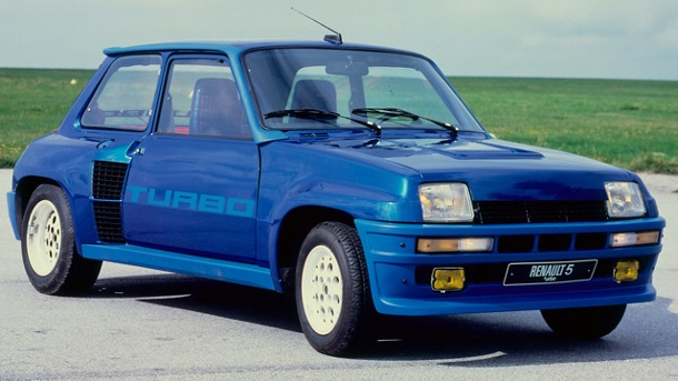 Renault R5 Turbo: Der Backen-Turbo. Renault R5 Turbo (Quelle: Hersteller)