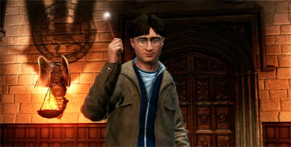 Harry Potter Kinect: Zaubern auf Befehl. Harry Potter Kinect (Quelle: WB Games)