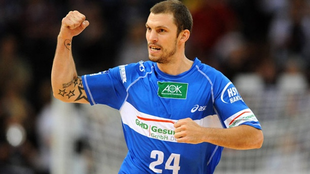 Handball: HSV in der Champions League. Fredrik Petersen und der HSV spielen erneut Champions League. (Quelle: imago)