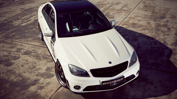 KICHERER Mercedes C 63 White Edition: 520 PS in der C-Klasse. Mercedes C 63 AMG KICHERER (Quelle: Hersteller)